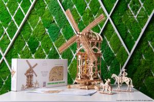 Ugears Tower Windmill Model Kit
