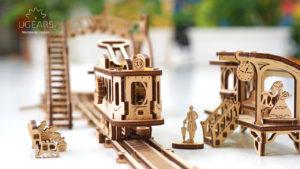 Ugears Tram Line Mechanical town DSC5800_B