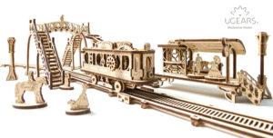 Ugears Tram Line Mechanical town _DSC4917