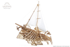 Ugears Trimaran Merihobus Model Kit